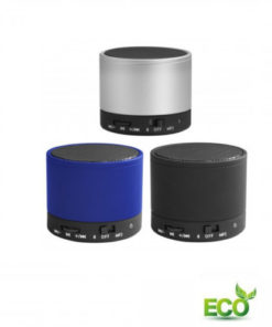 Zwarte Eco bluetooth speaker