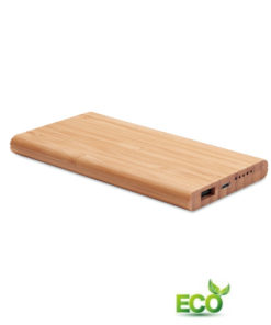 Powerbank bamboe