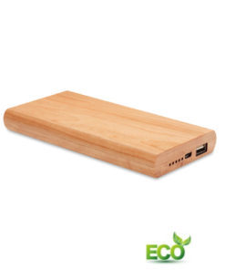 Bamboe powerbank